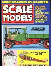Scale Models Magazine November 1981 Steam Wagon EX No ML 122916jhe