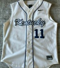 Kentucky Wildcats Baseball Vintage Men's Large Nike Team Jersey