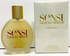 Giorgio Armani Sensi White Notes Eau Fraîche 75ml  Spray New & Rare