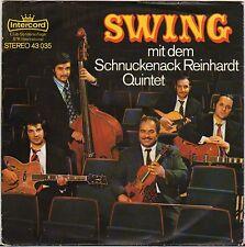 """SCHNUCKENACK REINHARDT QUINTET """"MANOUCHE JAZZ"""" 70'S EP INTERCORD 43035"""
