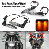2 Sets LED Turn Signal Indicator Light Front Rear For BMW S1000RR R1200GS F800GS