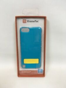 XtremeMac Microshield Stand Case for iPod Touch 5th gen. Peacock Blue New B3