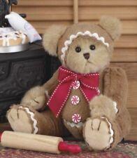 "10"" GINGERBEARY*Bearington Teddy Bear*New*NWT*Christmas*GINGERBREAD*173198"