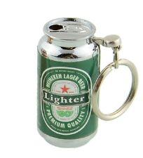 New 4cm Novelty Heineken® Keg Refillable Cigarette Gas Butane Lighter Great Gift