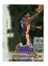 KOBE BRYANT NBA 2000-01 UPPER DECK TOTAL DOMINANCE  (LAKERS)