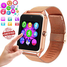 Bluetooth Smart Watch Phone GSM SIM Call Text for Android Samsung LG iphone HTC