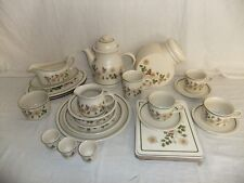 C4 Pottery Marks & Spencer Autumn Leaves - oven to tableware 3F5A