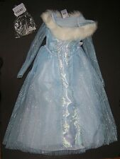 Disney Store XS 4-5 Chronicles of Narnia White Witch Ice Queen Costume & Crown