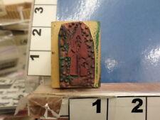 Saint nick santa clause Chrismas Rubber Stamp 4g