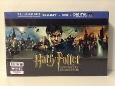 Harry Potter: Hogwarts Collection (Blu-ray/DVD, 2014, 31-Disc Set, Includes...