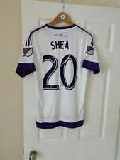 ORLANDO CITY FC OFFICIAL ADIDAS ORLANDO HEALTH SHEA 20 MLS 2015/16 HME SHIRT S