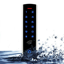 RFID EM Card Waterproof Metal Touch Keypad Door Access Control Systems Backlight