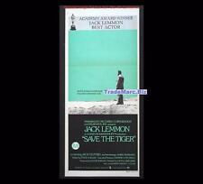 Save the Tiger 1973 Jack Lemmon Oscar Winner Daybill Original Australian Poster