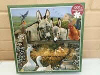 On the Farm - Otter House 1000 Piece Farmyard Animals Jigsaw Puzzle
