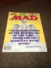 MAD Magazine #324 January 1994 Sleepless in Seattle, Line of Fire Vintage Humor