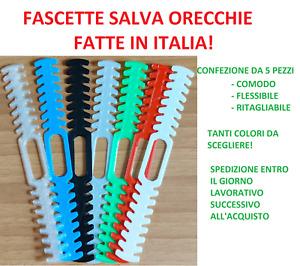5 Fascetta Fascette salva orecchie staffa supporto paraorecchie mascherine