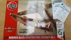 Airfix 1/72 Do 17/Defiant Dogfight Double kit