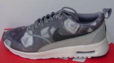 Nike Mujer Zapatos Negros Lobo Gris Air Max Thea Estampado 599408-013 Talla 7.5-