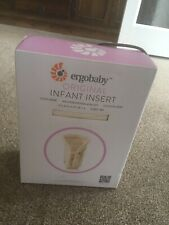 ERGObaby Infant Insert for Baby Carrier (Newborn to 6m) - Natural Colour