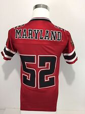 Maryland Terrapins Boys Medium Football Jersey Unique Rare Shiny Vintage