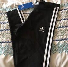 Adidas Originals Women's 3-Stripes Leggings Black Medium NWT