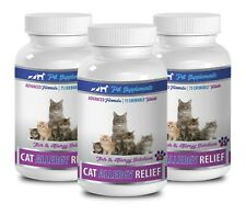 cat itchy skin - CAT ALLERGY RELIEF - ADVANCED 3B- turmeric cats