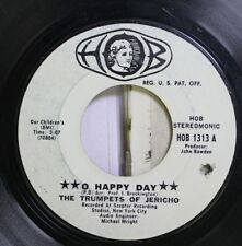 Soul Promo 45 The Trumpets Of Jericho - O Happy Days / Jesus Never Fails On Hob