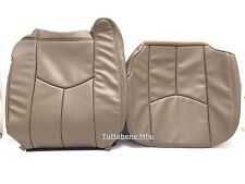 "03-06SILVERADO/AVALANCHE/SIERRA LEATHER-DRIVER BOTTOM/BACKREST-NEUTRAL""TAN""#522"