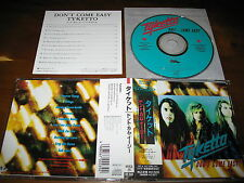 Tyketto / Don't Come Easy JAPAN Danny Vaughn 1ST PRESS!!!!! C7