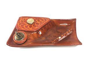 "California Originals USA Large Ashtray w/Lighter  And Stash Compartment 13.75"""