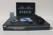 CISCO 1841 INTEGRATED SERVICES ROUTER  WIC-1DSU-T1-V2   256F/256D CISCO 1841-SEC