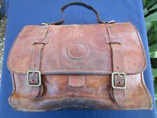 Sac cartable attaché-caisse cuir CONTE MAX italie ancien