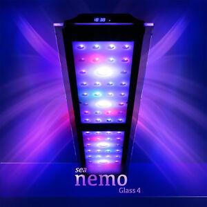 Sea Nemo Glass 4   LED Korallen Meerwasser Aquarium Beleuchtung Lampe   eSmart
