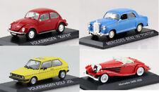 Sammlung Set 4 Autos Klassiker von Mercedes und VW 1:43 Atlas Modellauto