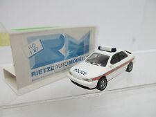 Eso-13921 Rietze 1:87 AUTO POLICE con minimi segni di usura, piccoli graffi