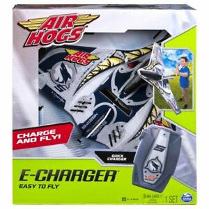 Air Hogs E Charger Shark Airplane Glider Easy Quick 30 Second Charge New NIB