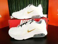 Nike Air Max 200 Metallic Gold White Mens Shoes AQ2568-102 Size 8-13