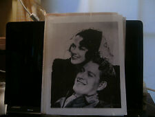 Set Of 2 Nelson Eddy Laser Photos From Rosaliee-1 With Eleanor Powell & 1 More!!