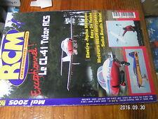 5µ?§ Revue RCM n°289 Plan encarté Biplan Why Not / Saab Vigen Salto H 101 CL-41