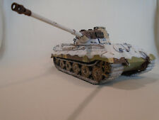 Pro Built German King Tiger heavy tank 1/35 Meng assembled / gebaut model