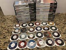 Lot of 24 Sony PSP UMD Movies- Jumanji, XXX, Sin City, Nirvana, Sahara, + More!