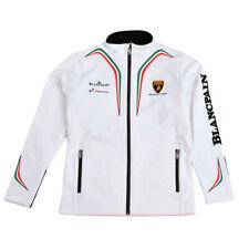 Ladies softshell Lamborghini Squadra Corse white - size M