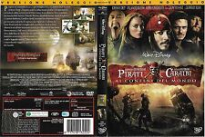 PIRATI DEI CARAIBI - AI CONFINI DEL MONDO (2007) dvd ex noleggio