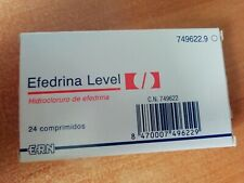 Efedrina 24tbs 50mg Fat burner/Preworkout