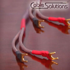 2m Cable Solutions O2X 12 AWG OFHC Speaker Cables, Stereo Pair