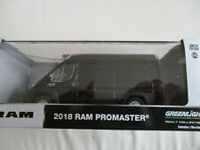 Miniature RAM pro Master Fiat Elevated 2018 Black Greenlight 1/43