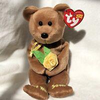 "Ty Beanie Baby ""Bandage"" Bear # 40221, Fr 2007"