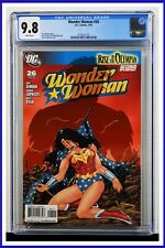 Wonder Woman #26 CGC Graded 9.8 DC January 2009 White Pages Comic Book