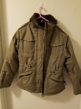 *HAWKE&CO.* GIRLS SIZE 10-12 M FULL ZIP PLAID JACKET