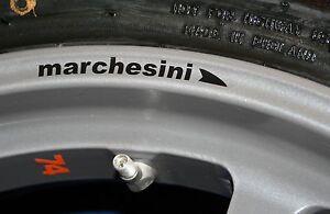 MARCHESINI WHEEL RIM Decals / Stickers - Ducati Aprilia MV Agusta -COLOUR CHOICE